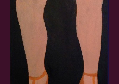 Red Panties 24 X 18 Acrylic on Canvas