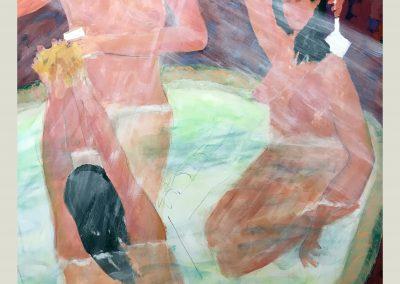 Splish Splash 60x48 Acrylic on Canvas