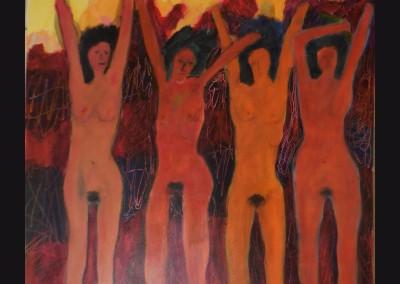 Domination  36x36  Acrylic on Canvas