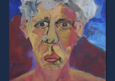 Self Portrait 1 Acrylic on Canvas