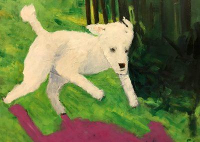 Joe Snow 36x36 Acrylic on Canvas