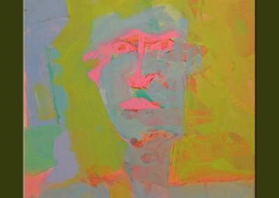 Self Portrait 2 - 20 X 16 Acrylic on Canvas