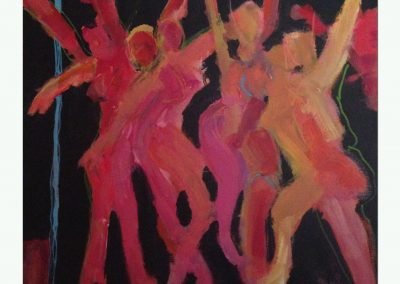 Dance 20 X 20 Acrylic on canvas