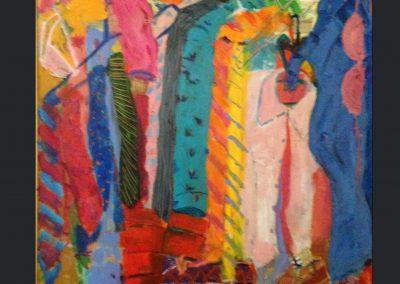 My Closet My Marriage 40x30 Acrylic on canvas $900.