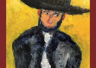 West Bank 30 X 24 Acrylic on Canvas