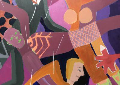 Women Ascendant 48x36 Acrylic on Canvas