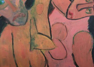 Dance Macabre 36x30 Acrylic on Canvas